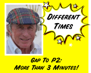 DifferentTimes Gap To P2:More Than 3 Minutes!