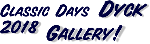 2018 `Gallery! Dyck Classic Days